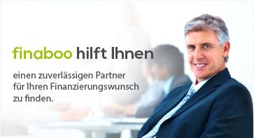 finaboo hilft Ihnen einen zuverlässigen Partner für Ihren Finanzierungswunsch zu finden